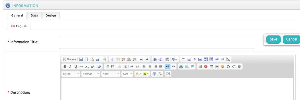 WYSIWYG Page Editor