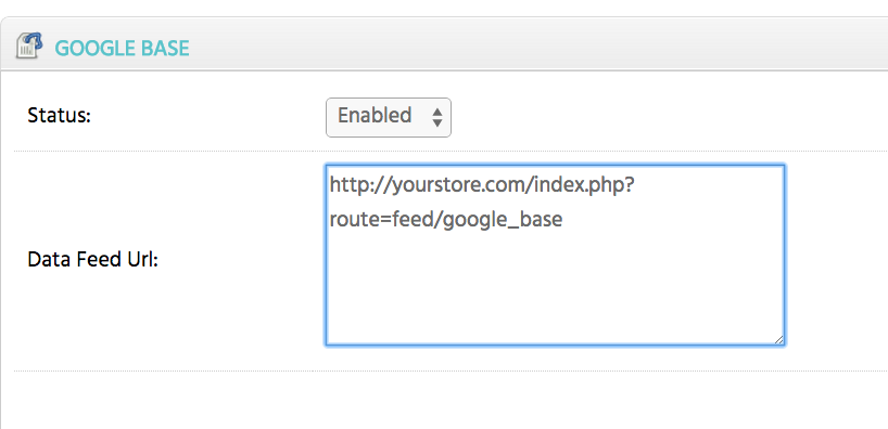 Google Feed installation