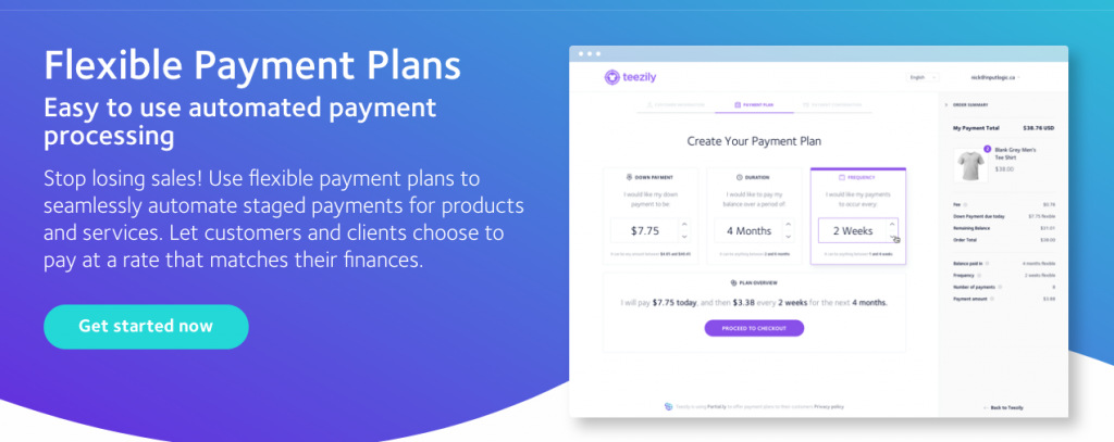 Partial.ly Payments